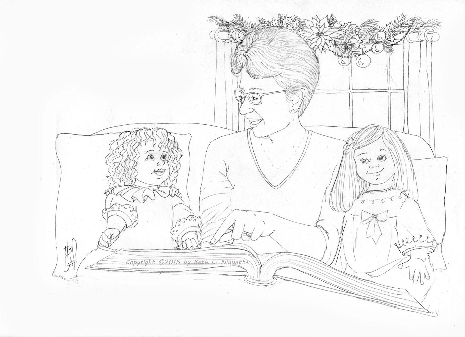 1600x1162 Beth's Artworx Grandma's Christmas Story Paint Party Friday