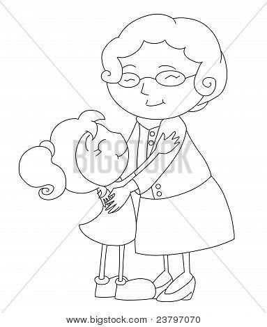 383x470 Grandmother Grandchildren Image Amp Photo Bigstock