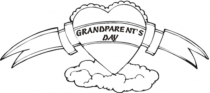 700x310 Grandparents Day Coloring Pages