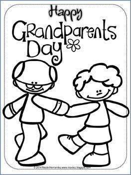263x350 Grandparents Day Free By A Teacher's Idea Teachers Pay Teachers