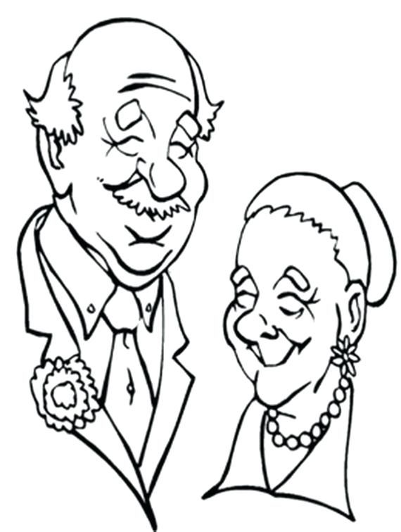 570x756 Grandma Coloring Pages Grandparents Day Coloring Pages Activities