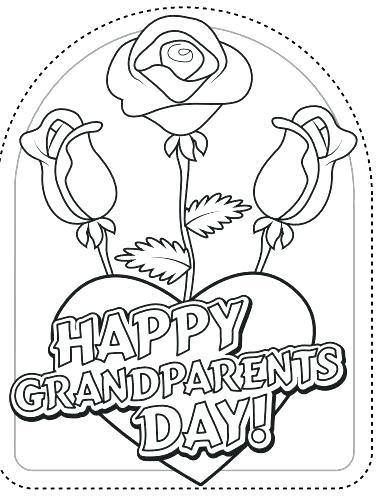 385x501 Grandparents Coloring Page Grandpa Teach His Grandchild To Read