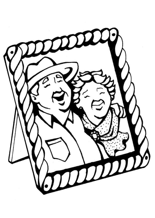 620x875 Coloring Page Grandparents