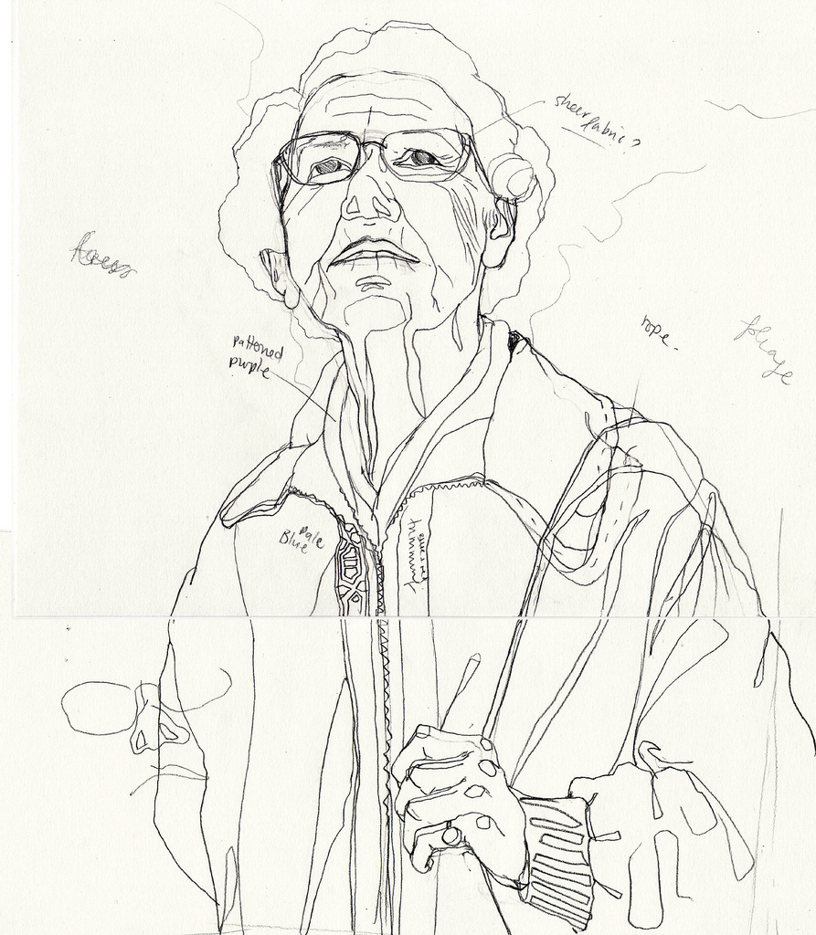 893x1024 Granny Sketch Initial Sketch Of Old Lady To Become