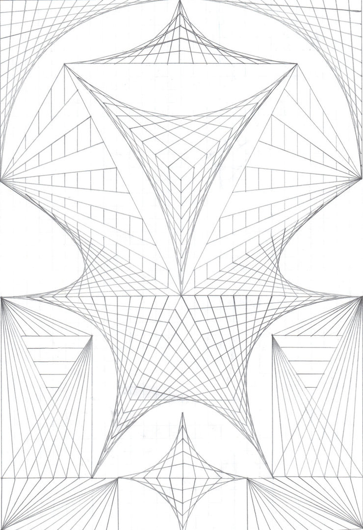 740x1080 Graph Paper Abstractum By Geo Met Me