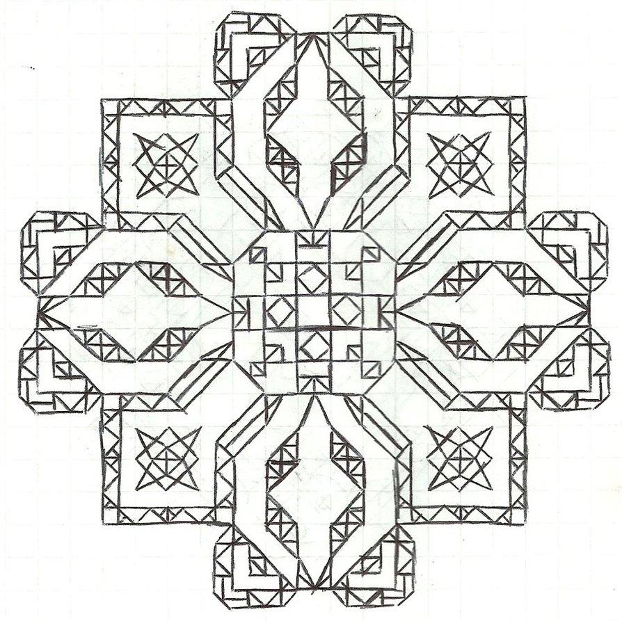894x893 Graph Paper Art Jan 21 By Estabane