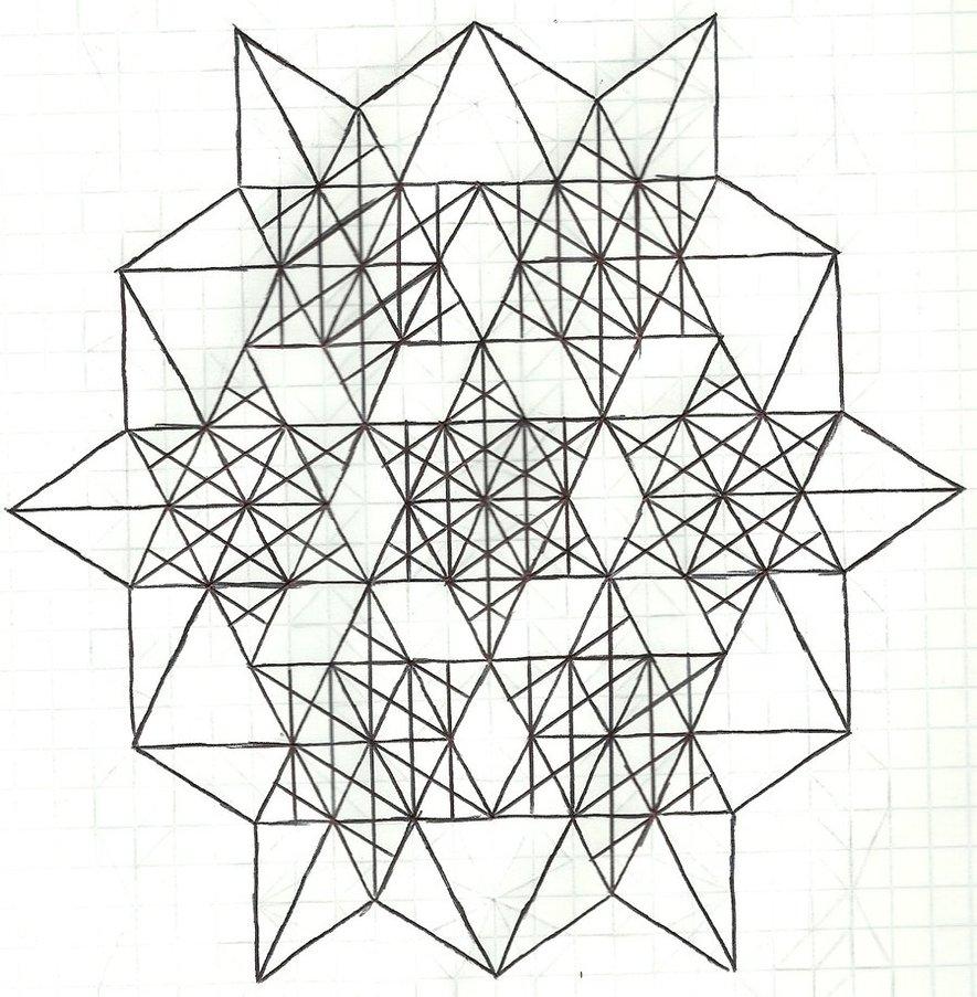 885x903 Graph Paper Art Nov 21st By Estabane