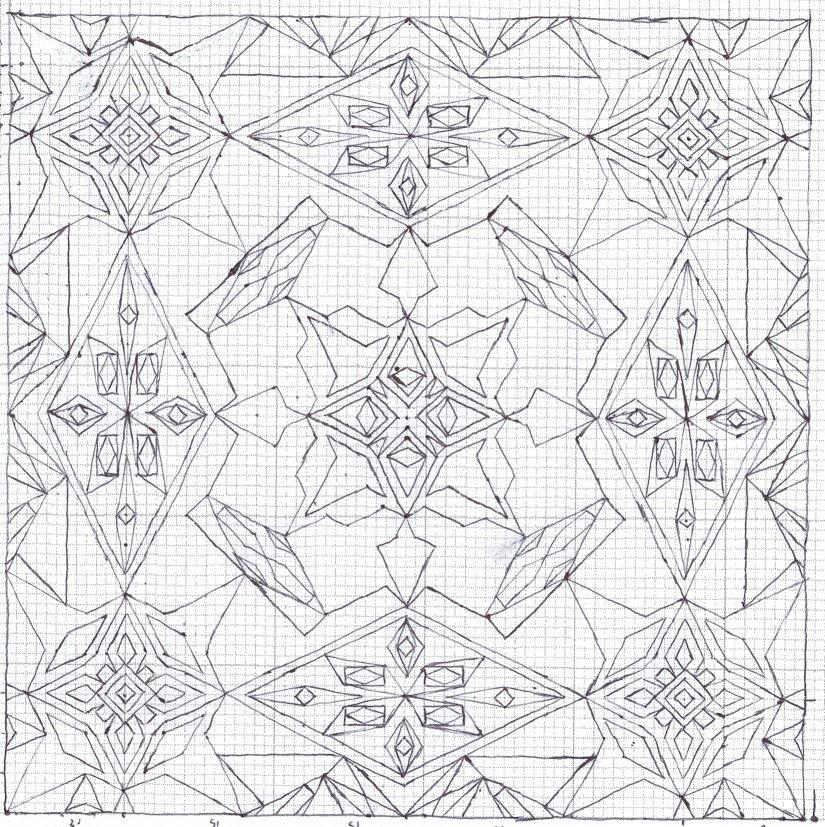825x827 Graph Paper Uncolored Design Textures Graph Paper