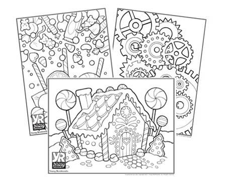 447x360 Patterns Amp Graphics Coloring Page Bundle