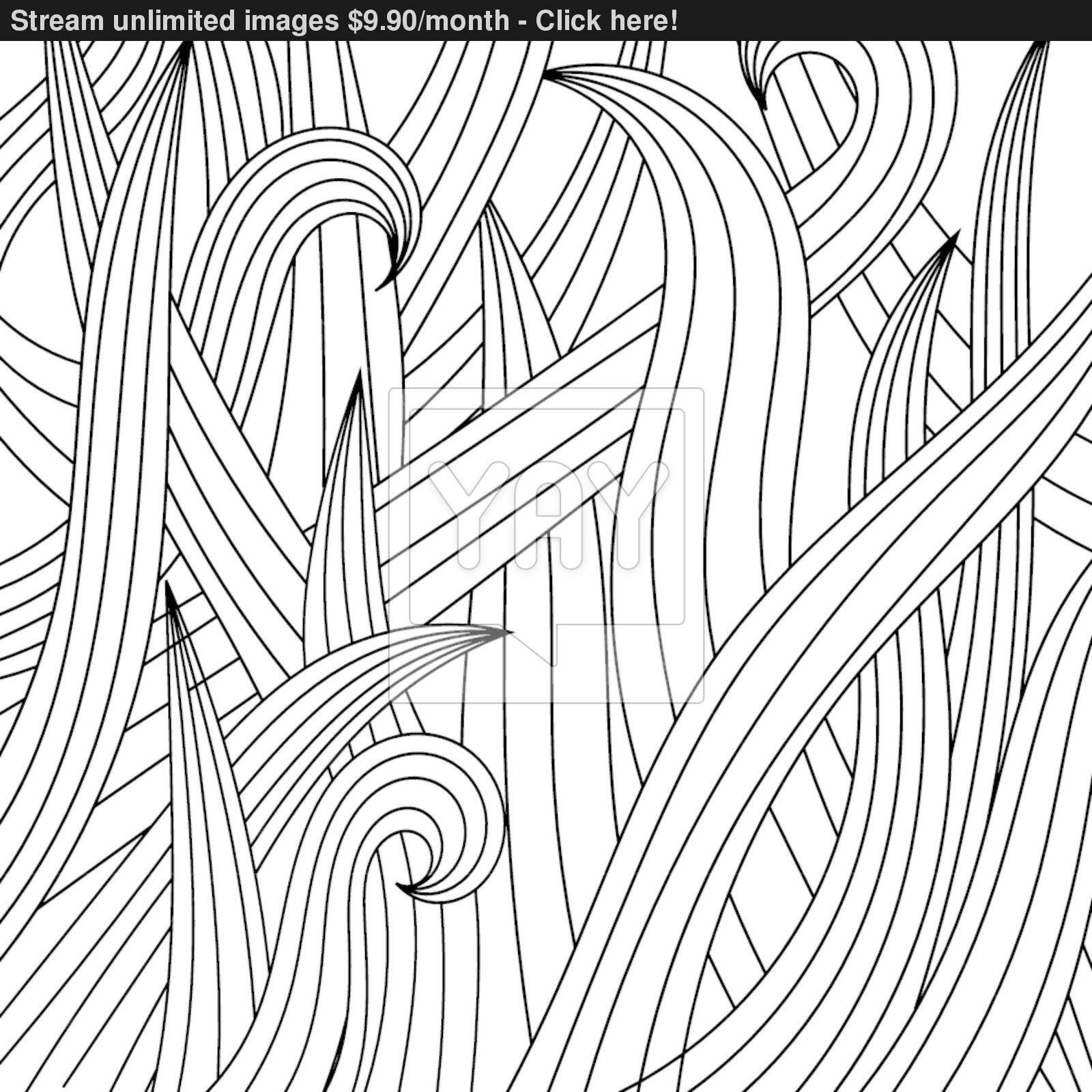 1600x1600 Black White Drawing Of Grass. Eps10 Vector