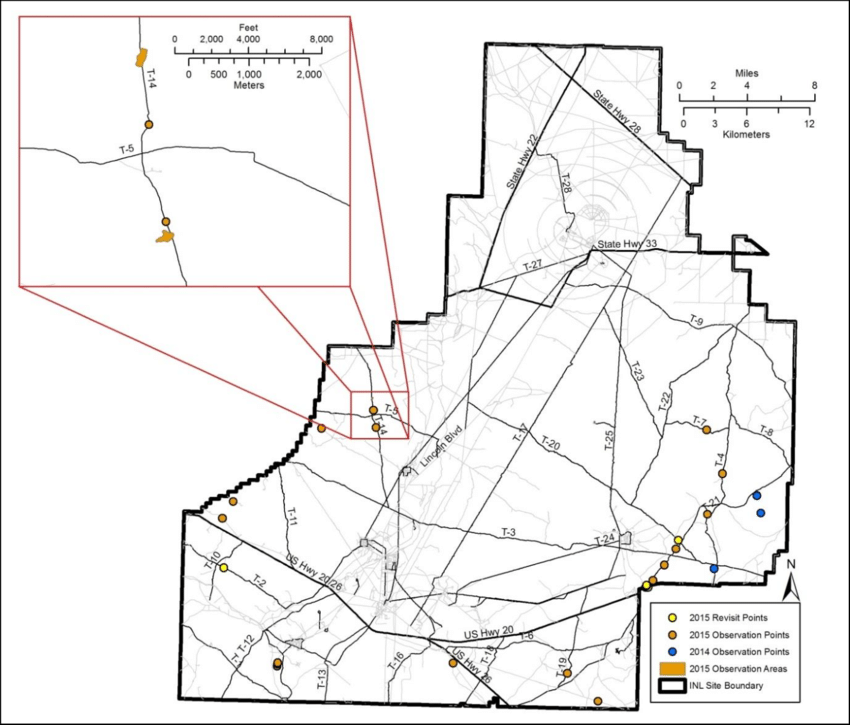 850x725 5. Results From Field Surveys. Areas Of Non Notive Annual Grass