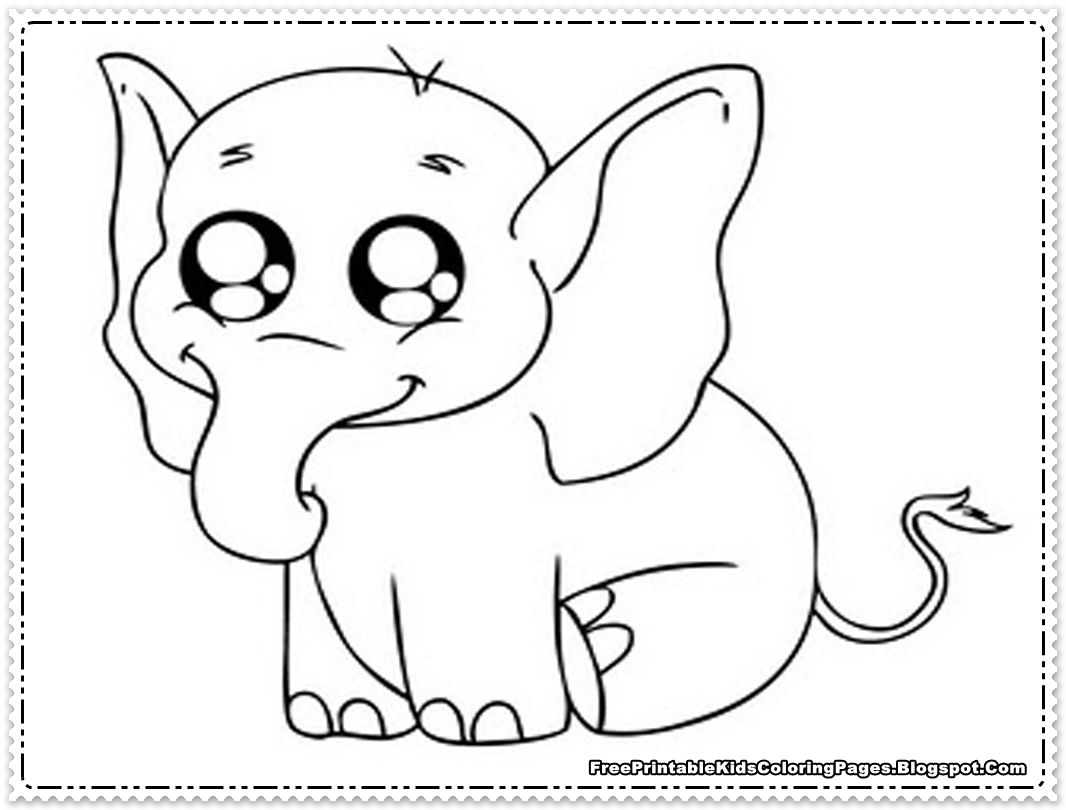 1066x810 Popular Elephant Coloring Pictures Book Design