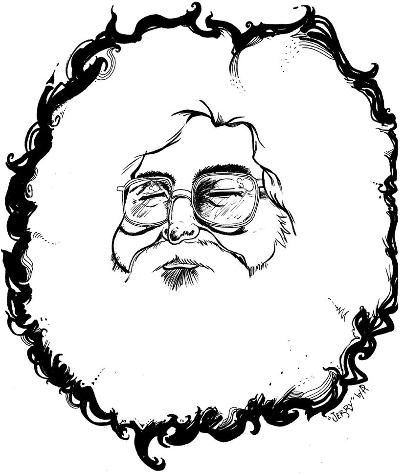 Grateful Dead Bear Drawing at GetDrawings   Free download