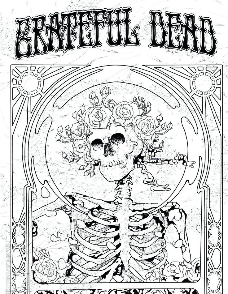 Grateful Dead Bear Drawing at GetDrawings