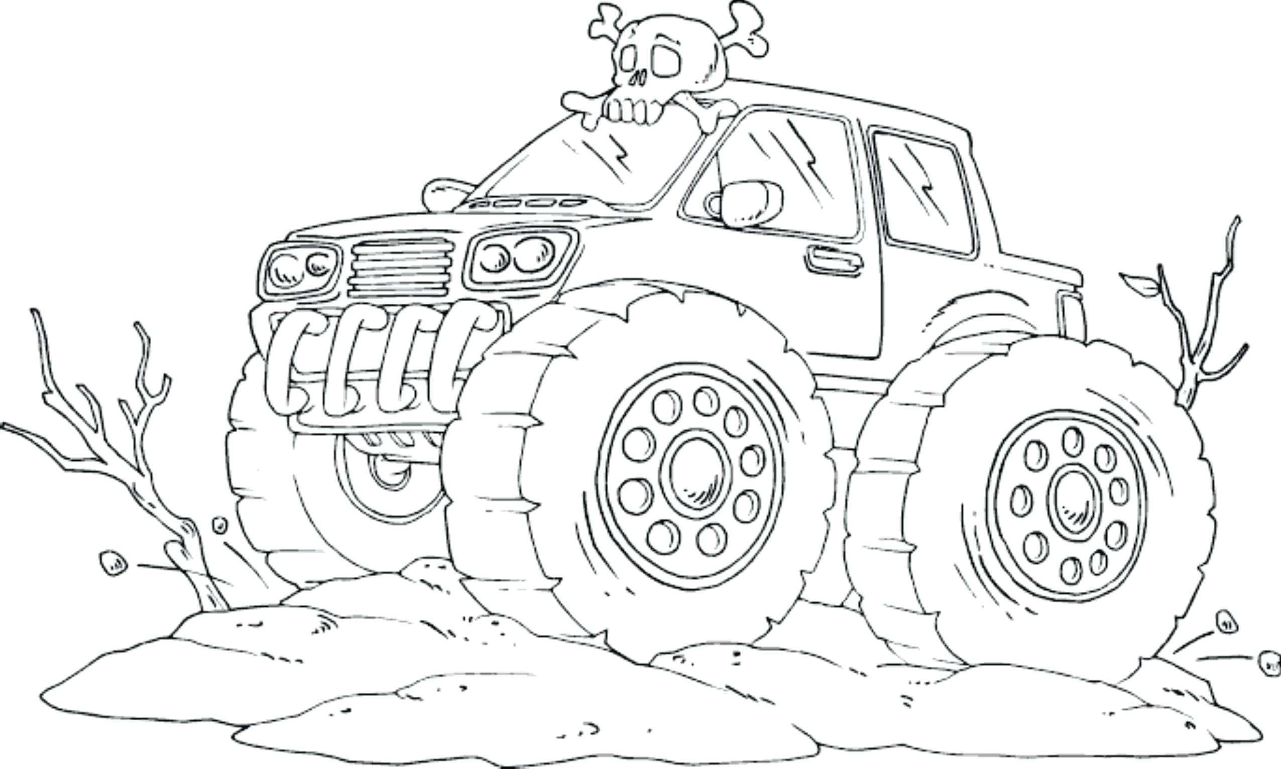 2551x1532 Grave Digger Coloring Pages