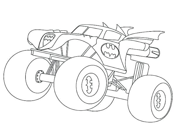 600x463 Best Grave Digger Monster Truck Coloring Pages Print Coloring