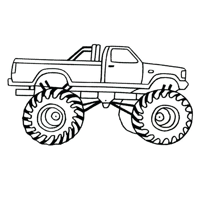 700x700 Grave Digger Coloring Pages