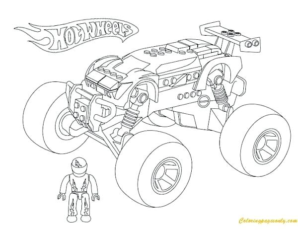 600x463 Coloring Pages Of Monster Trucks Download Coloring Pages Monster