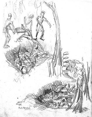 315x400 Figure 02.11. Mass Grave. Thumbnail Sketch.