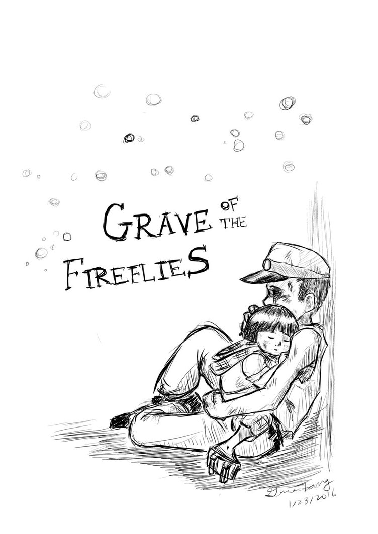 752x1063 Grave Of The Fireflies By Kaizoku5493