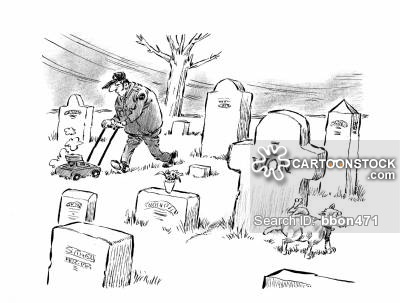 400x303 Grave Stones Cartoons and Comics