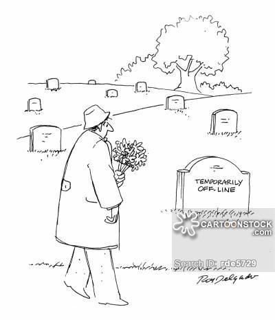 400x466 Gravestone Cartoons and Comics