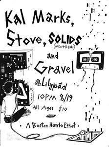 223x300 Live Music Kal Marks, Stove, Solids, Amp Gravel @the Lilypad [081916]