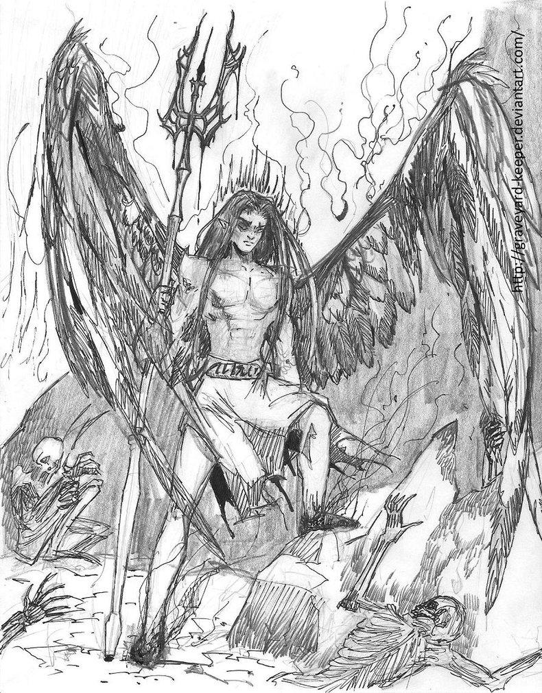 790x1011 Lucifer. By Graveyard Keeper