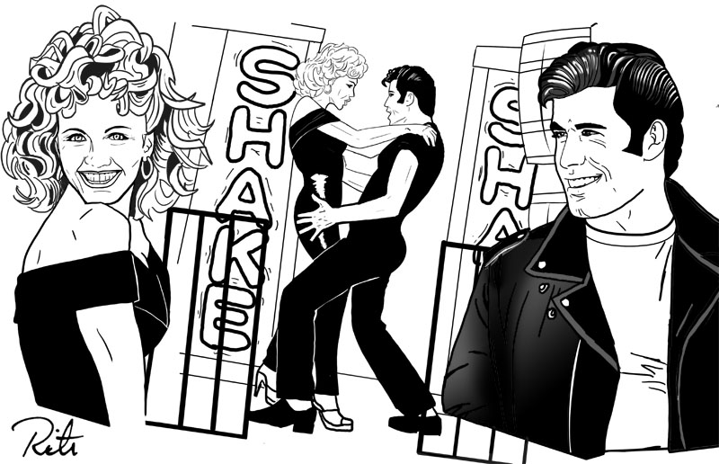 800x516 Grease Danny And Sandy By Rictor