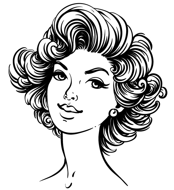 600x656 How To Create A 50s Fashion Illustration In Adobe Illustrator