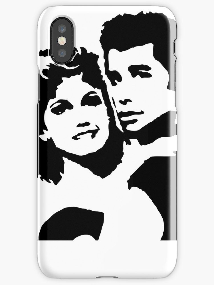 750x1000 John Travolta Grease Iphone Cases Amp Skins By Cinemadelic Redbubble