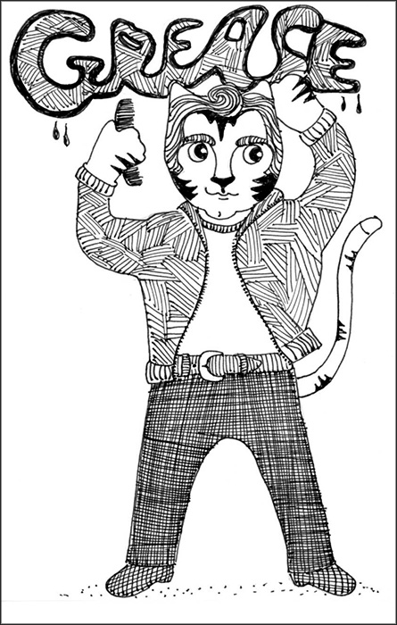 445x700 What A Cat! Grease! The Crafty Sisters