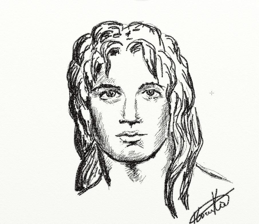 Pencil Sketch Drawn Portraits Of Alexander The Great