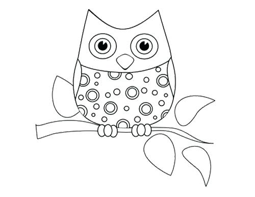 500x386 Coloring Page Owl Owl Yawn Coloring Page Coloring Page Of Great