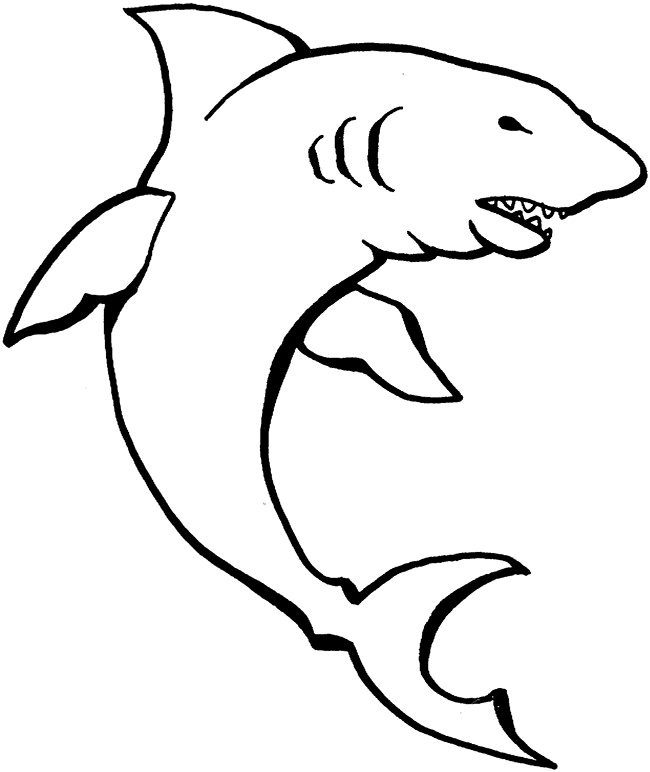 650x772 Shark Shape Templates, Crafts Amp Colouring Pages Free