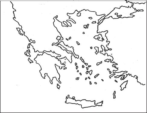 Greece Map Drawing at GetDrawings.com   Free for personal ...