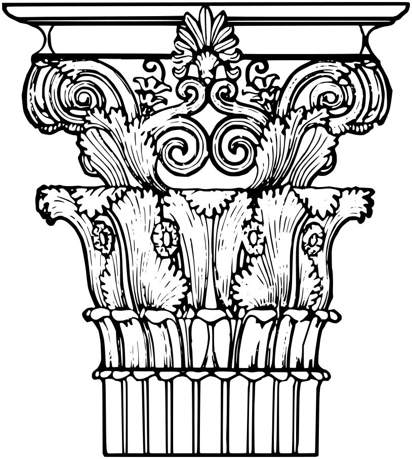 814x908 Corinthian Column 2