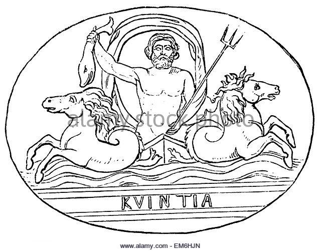 640x501 Poseidon Greek God Sea Drawing Stock Photos Amp Poseidon Greek God