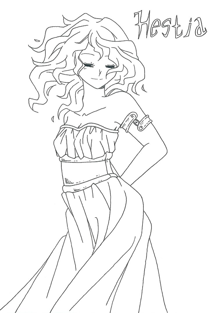 Greek Goddess Drawing At Getdrawings Free For Personal Use