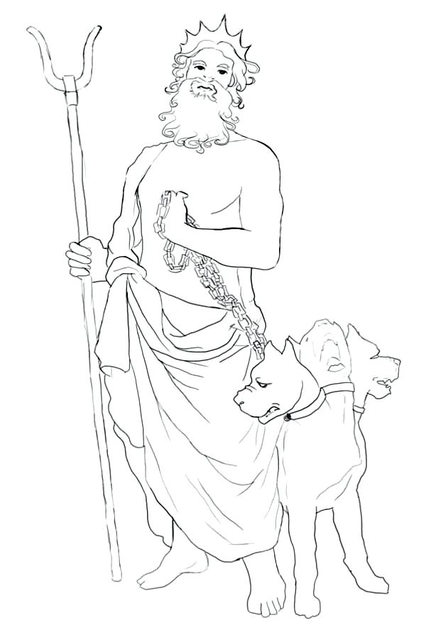 Greek Gods Drawing At Getdrawings Free Download