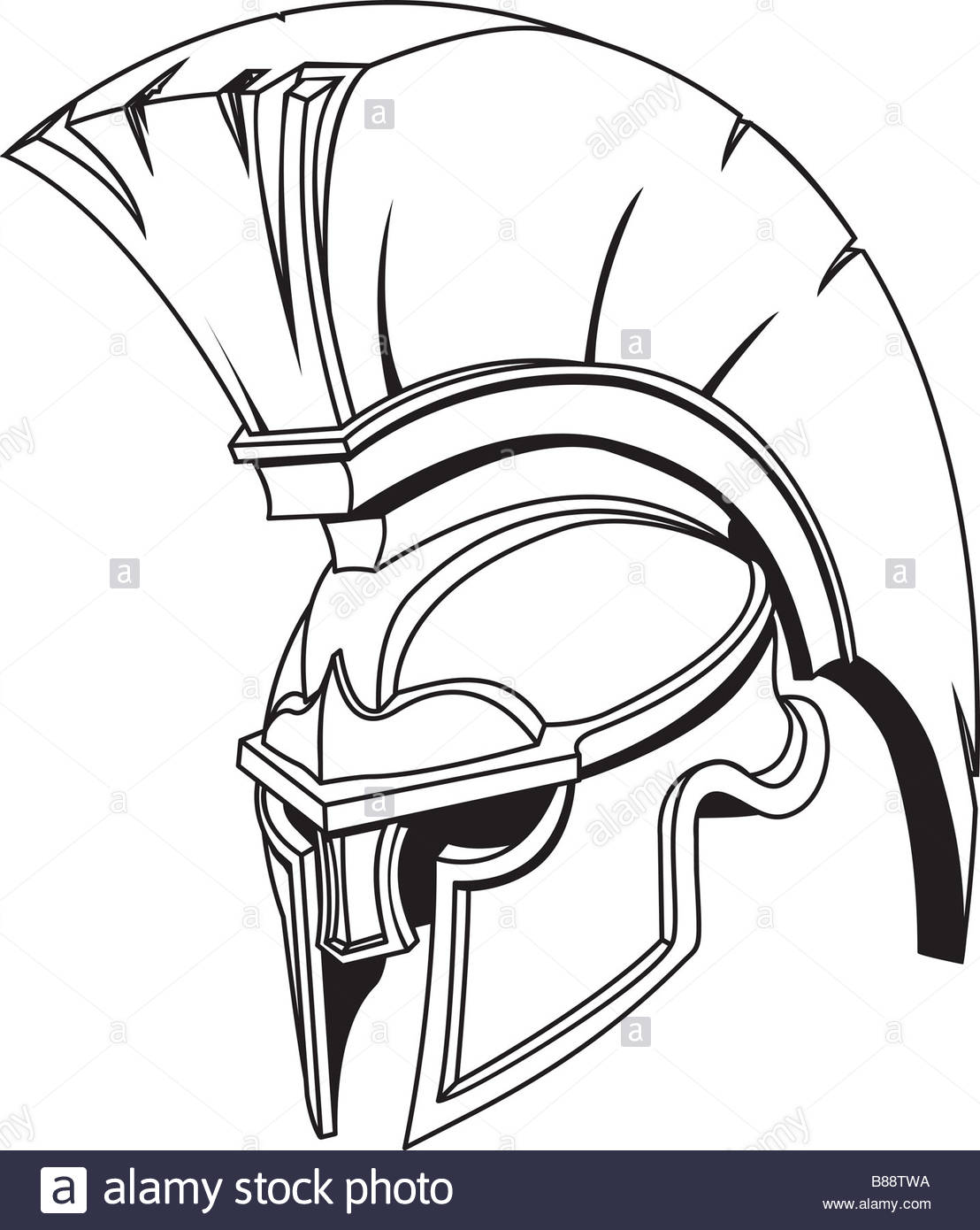 005010cd4e9 1108x1390 An Illustration Of Spartan Roman Greek Trojan Or Gladiator Helmet