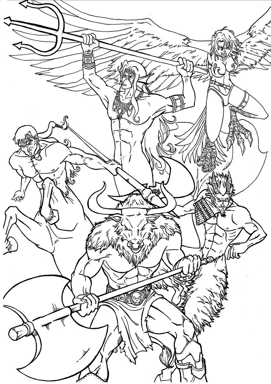 900x1273 Greek Mythology By 0 Pau 0