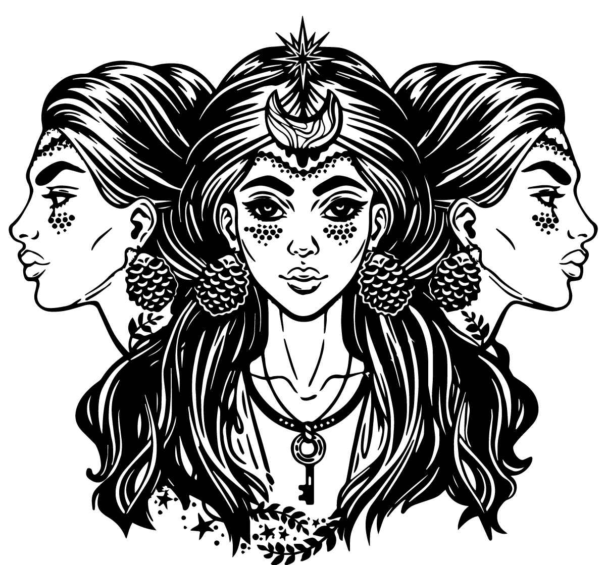 1200x1119 Hecate, Greek Goddess Of Magic And Witchcraft
