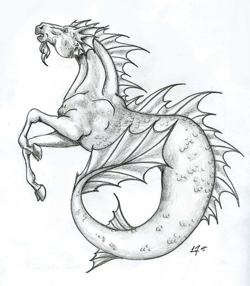 836x955 Mythical Pencil Art Drawn Unicorn Greek Mythology