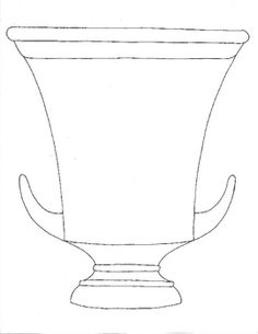 236x305 Greek Vase Template Collection