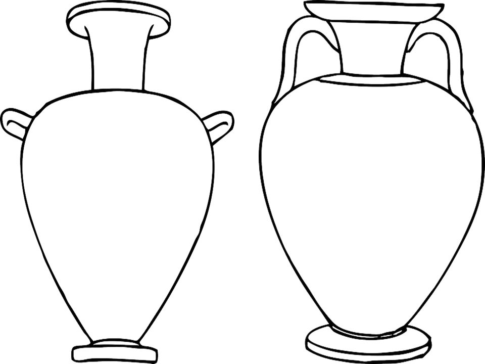 960x720 Peachy Design How To Draw Greek Vases Ancient Greece Coloring