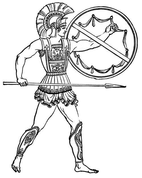 500x626 Greek Warrior Quest For The Lost Chalice Greek