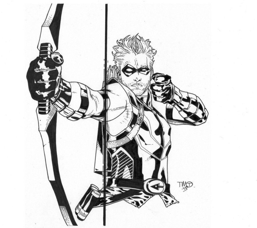 Green Arrow Drawing At Getdrawings Com Free For Personal