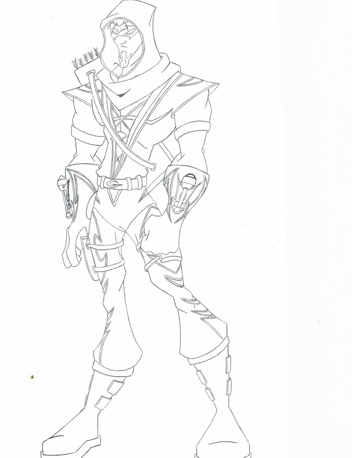 Green Arrow Drawing at GetDrawings.com | Free for personal use Green ...
