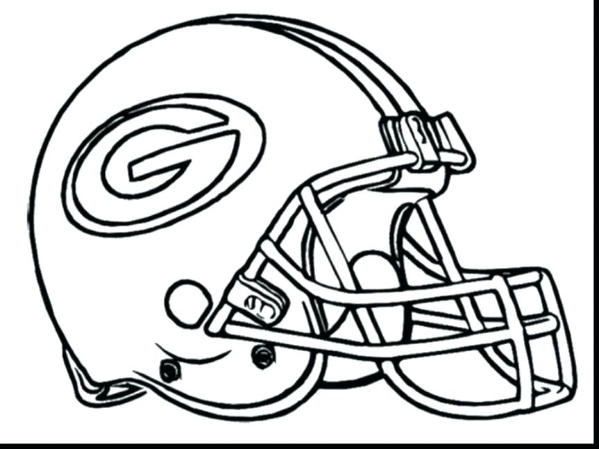 863x647 Green Bay Packers Coloring Pages Colouring To Fancy Draw Kids